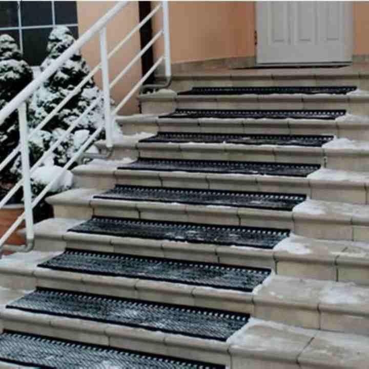 Arbecka Otirači antislip za klizave stepenice :Protivklizne Trake :Sneg
